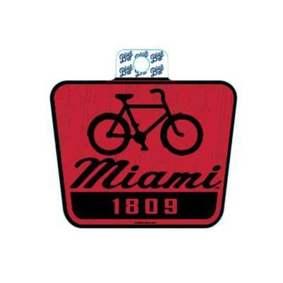 Miami Blue 84 Bike Sticker