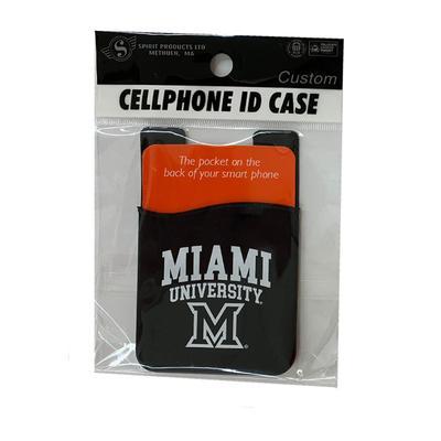 Miami M Logo ID Case