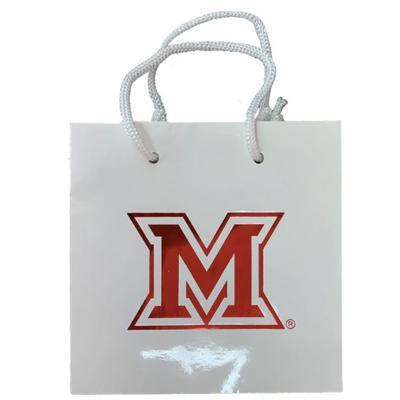 Miami M Logo Medium Gift Bag