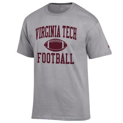 Virginia Tech Champion Basic Football Tee