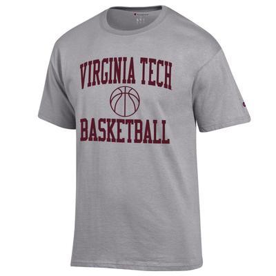 Virginia Tech Champion Basic Basketball Tee