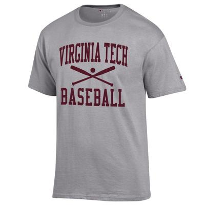 Virginia Tech Champion Basic Baseball Tee