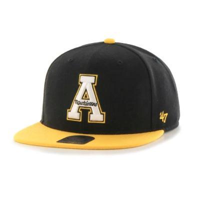 Appalachian State 47 Brand Sure Shot Flatbrim Adjustable Hat