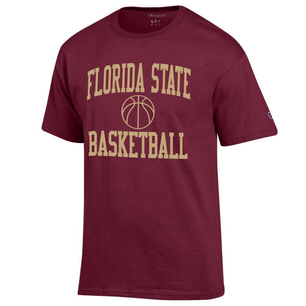 Florida State Champion Basic Basketball Tee