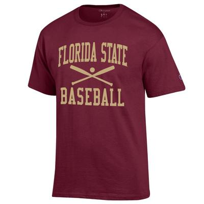 Florida State Champion Basic Baseball Tee