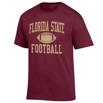 Florida State Champion Basic Football Tee