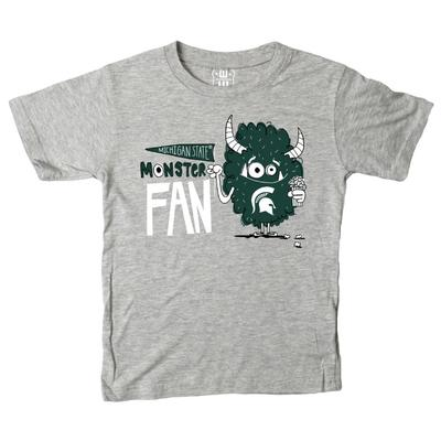 Michigan State Toddler Monster Fan Short Sleeve Tee