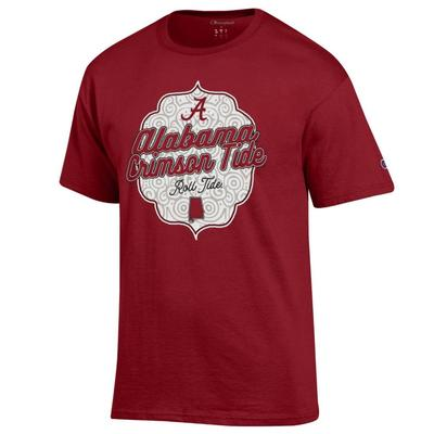 Alabama Champion Women's Crimson Tide Shield Tee