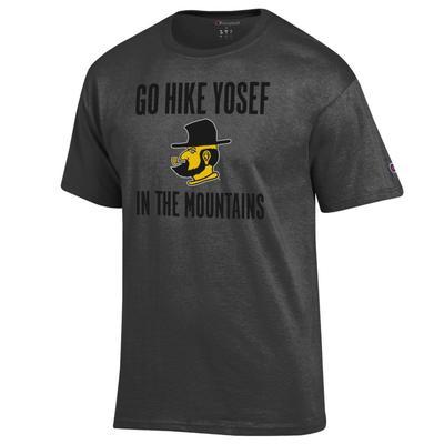 Appalachian State Champion Go Hike Yosef Tee