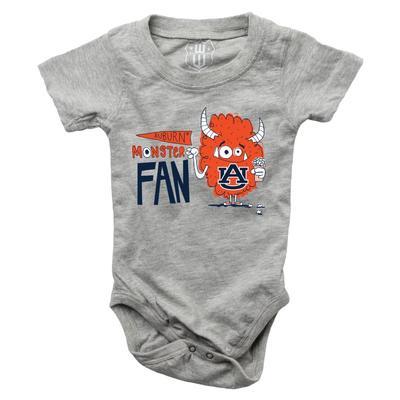 Auburn Infant Monster Fan Onesie