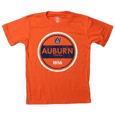Auburn Kids Circle Short Sleeve Tee