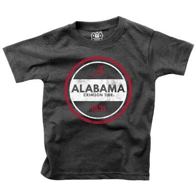 Alabama Kids Circle Short Sleeve Tee