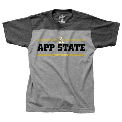 Appalachian State Kids In Motion Short Sleeve Tee