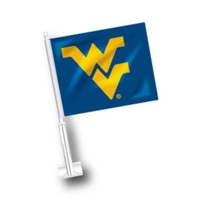 West Virginia Car Flag