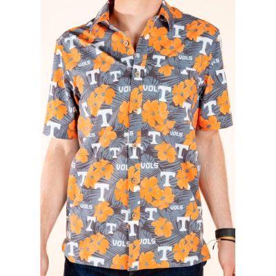 Tennessee Tellum And Chop Floral Print Hawaiian Shirt
