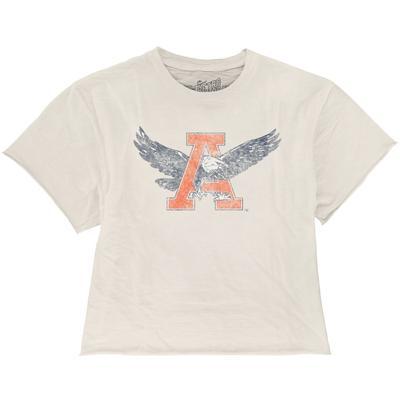 Auburn Vault Eagle A Boyfriend Crop Tee