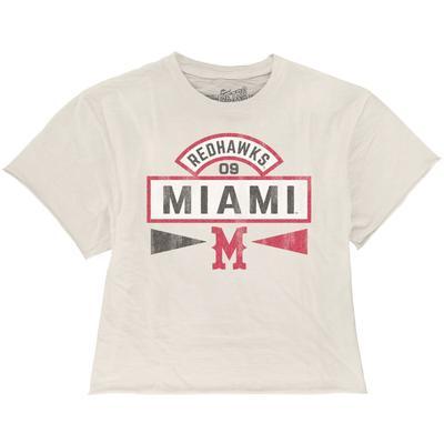 Miami Vault M Boyfriend Crop Tee