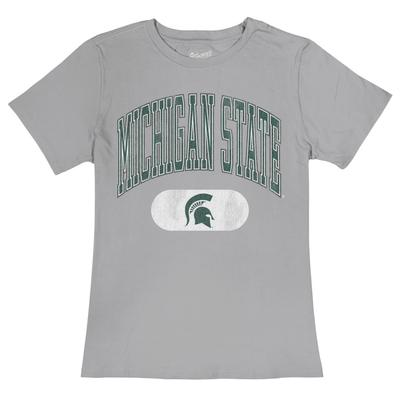 Michigan State Vault Arch Over Logo Tee