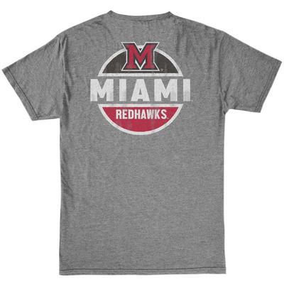 Miami Vault M Logo Circle Short Sleeve Tee