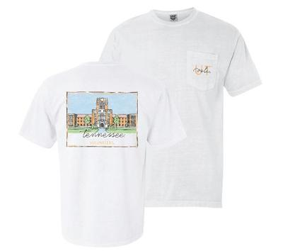 Tennessee Summit Hand Drawn Campus Comfort Colors Tee