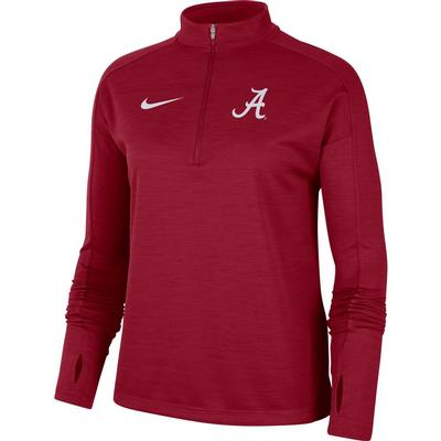 Alabama Nike Women's 1/4 Pacer Pullover