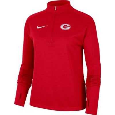 Georgia Nike Women's 1/4 Pacer Pullover