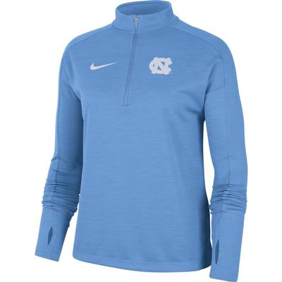 UNC Nike Women's 1/4 Pacer Pullover