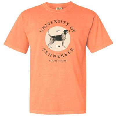 Tennessee Summit Circle Mascot Comfort Colors Tee