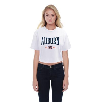 Auburn Summit Boyfriend Est Date Squeeze Crop Top