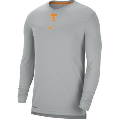Tennessee Nike Men's UV Coach's Long Sleeve Tee