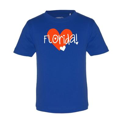Florida Garb Toddler Hearts Short Sleeve Tee