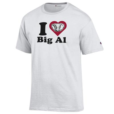 Alabama Champion Women's I Love Big Al Tee