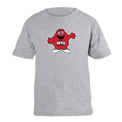 Western Kentucky Garb Toddler Mascot Short Sleeve Tee