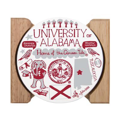 Alabama Julia Gash Drink Coasters (4 Pack)