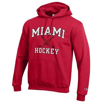 Miami Champion Hockey Hoodie