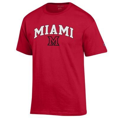 Miami Champion Miami Arch Over M Tee