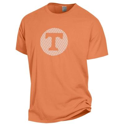 Tennessee Logo Hound Circle Short Sleeve Comfort Colors Tee