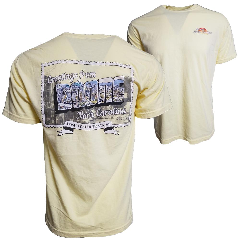Greetings From Boone Short Sleeve T- Shirt