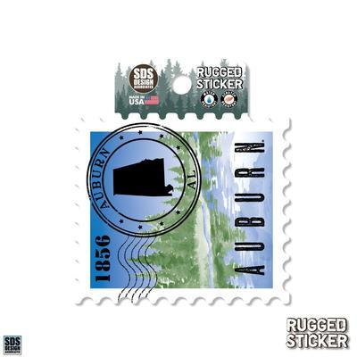 Seasons Design Auburn State Stamp 3.25