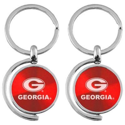 Georgia Spinner Key Chain