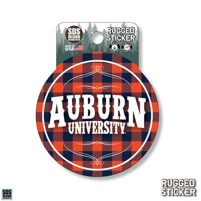 Seasons Design Auburn Buffalo Check 3.25