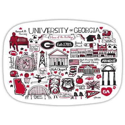 Georgia Julia Gash 14 Inch Serving Platter