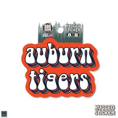 Auburn Seasons Design Mascot 3.25