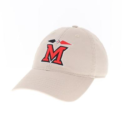 Miami Legacy Myaamia Heritage Collection M Logo Adjustable Hat KHAKI