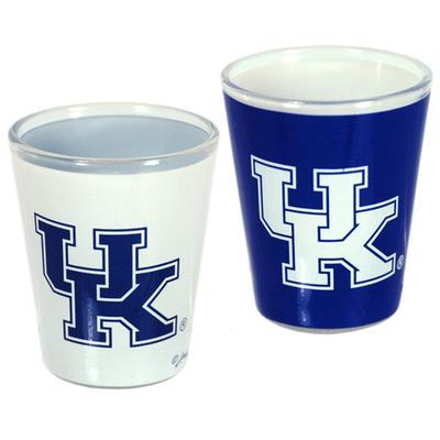 Kentucky 2 oz Two Tone Shot Glass