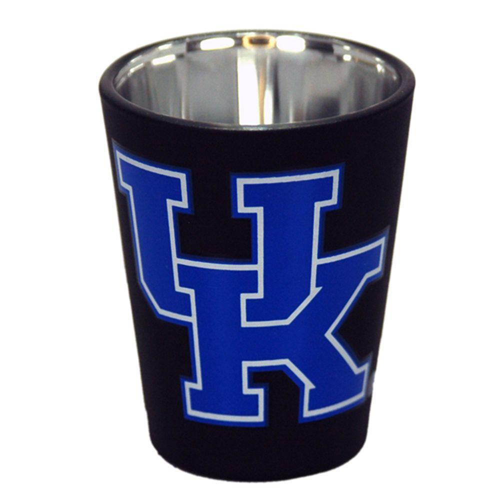 Kentucky 2 Oz Matte Black Shot Glass