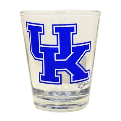 Kentucky 2 oz Bullseye Bottom Shot Glass