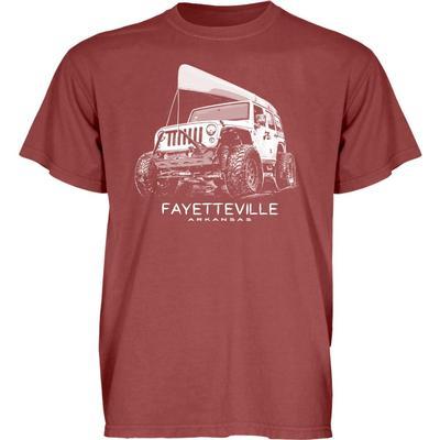 Blue 84 Fayetteville Wheeled Jeep Short Sleeve Tee