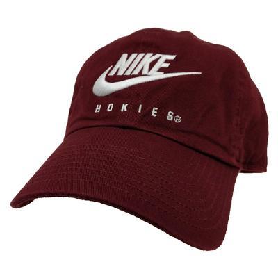 Virginia Tech Nike Futura Adjustable Hat