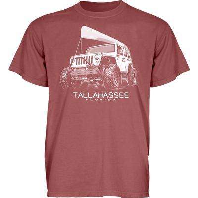 Blue 84 Tallahassee Wheeled Jeep Short Sleeve Tee